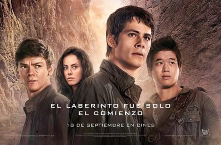 'El corredor del laberinto: Las pruebas', la película