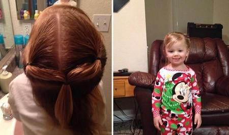 Dad Does Daughter Ponytail Cosmetology School Greg Wickherst 12