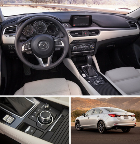 Mazda6 2016 Interior