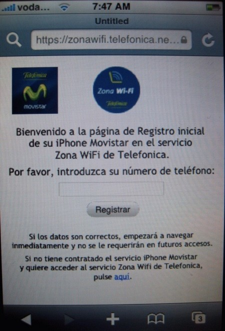 Rumor: ¿Nuevo servicio iPhone Movistar?