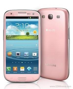 Samsung Galaxy SIII rosa