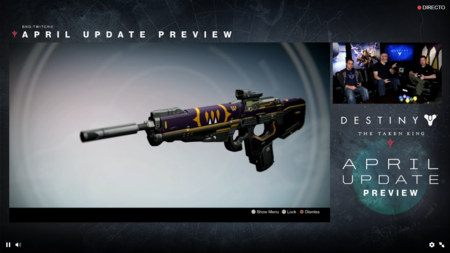 Destiny Actualizacion De Abril 12