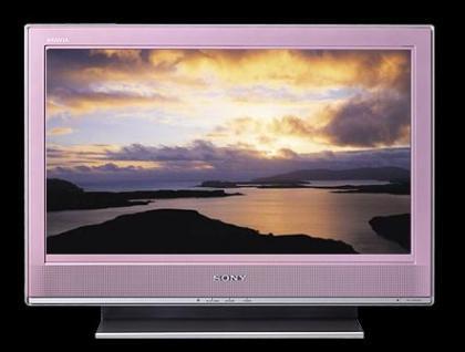 Televisores Sony Bravia en rosa