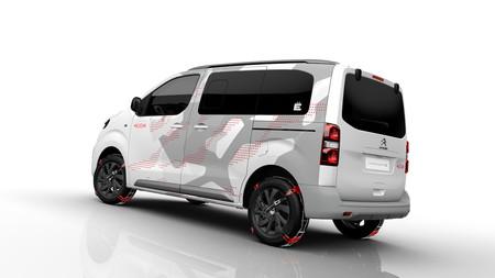Citroën Spacetourer 4x4 Ë Concept, o cuando el diseño de coches emana de artículos 'lifestyle', y no al revés