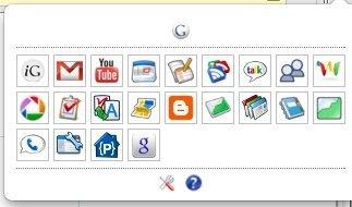 Ten todas las aplicaciones de Google a un golpe de ratón en Chrome