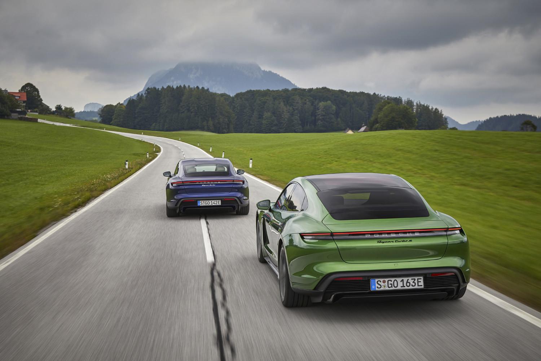 Foto de Porsche Taycan prueba contacto (150/275)