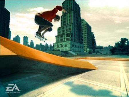 Nuevas capturas para 'Skate It' de Wii