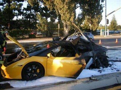 Lamborghini Gallardo, ¡a la hoguera!