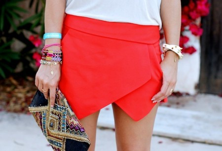 Duelo de estilos: la skort de Zara está pegando fuerte