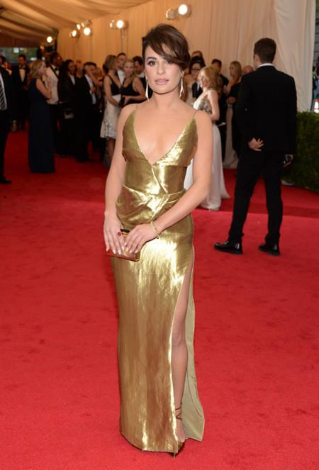 Lea Michele Gala MET 2014 peor vestidas