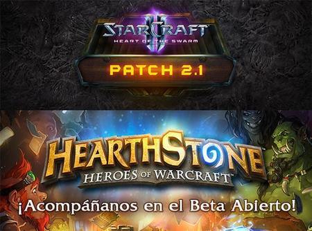 Actualización Starcraft 2 y beta abierta de HearthStone: Heroes of Warcraft