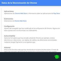 Cómo resetear la sincronización de Chrome