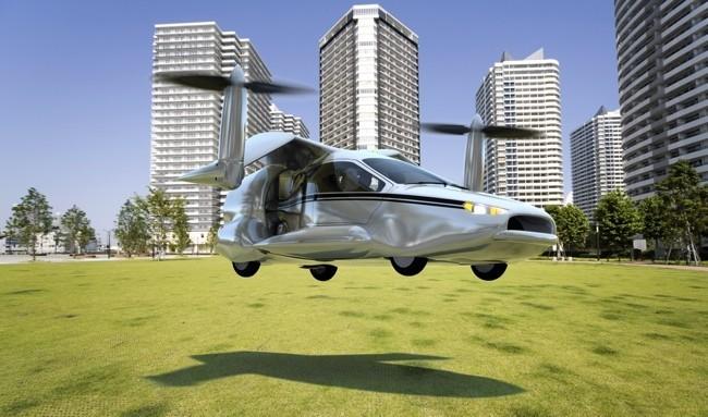Terrafugia coche volador