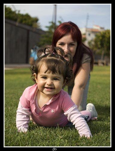 La foto de tu bebé: juegos compartidos con mamá