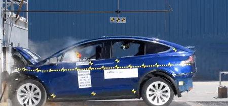 Así ha conseguido el Tesla Model X las cinco estrellas de la NHTSA, con tres vídeos incluidos