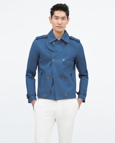 Prendas Zara Rebajas Lluvias Trendencias Hombre