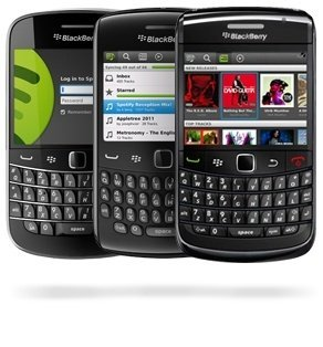 La aplicación de Spotify para BlackBerry sale de la beta