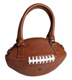Bolso con forma de pelota de fútbol americano