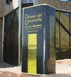 Aceite ecológico de la Dehesa del Generalife