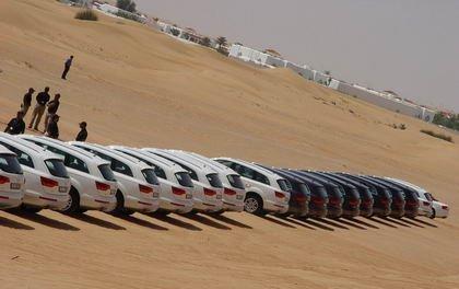 Presentación del Audi Q7 en Dubai