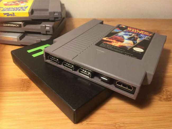 ¿Te gustó la NES Mini? Con este cartucho con Raspberry Pi Zero y 2400 juegos vas a alucinar