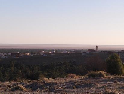 El Chott El Djerid: Un lago de sal en el Sahara