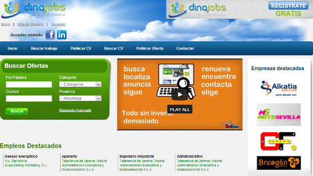 Dinajobs, un nuevo portal para ayudar a reclutar candidatos de forma gratuita