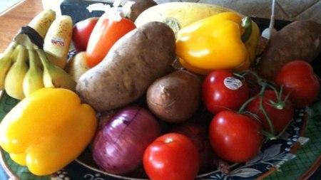 Sin ni verduras frutas comer adelgazar