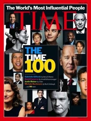 Times saca la lista de los 100 personajes más influyentes del año y como no... Justin Bieber está en ella