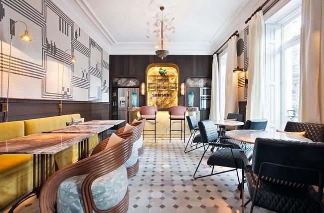 Casa Decor 2018 Restaurante Beatriz Silveira Espacio Samsung