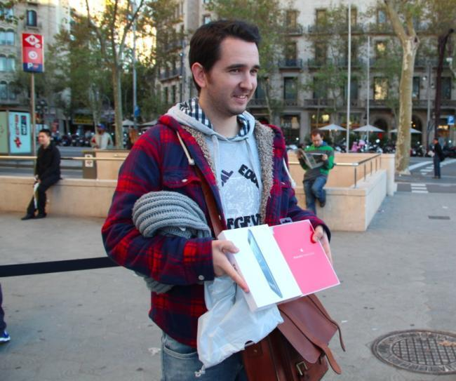 ipad mini lanzamiento barcelona apple store paseo de gracia