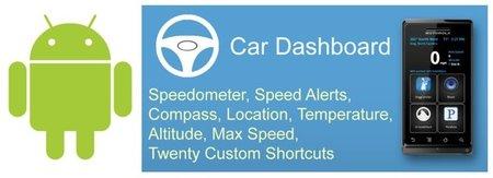Car Dashboard, pequeña computadora de a bordo gracias a tu dispositivo Android