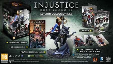 'Injustice: Gods Among Us' en nuestro país el 19 de abril