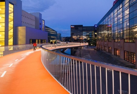 Cykelslangen: Copenhague se gasta 4 millones de euros en un carril bici de 220 metros