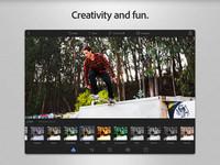 Adobe actualiza Photoshop Express para iOS con nuevo diseño, soporte Instagram y otras mejoras