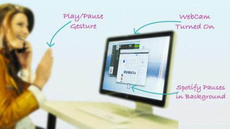 Flutter, controla iTunes y Spotify con gestos de la mano ante una webcam
