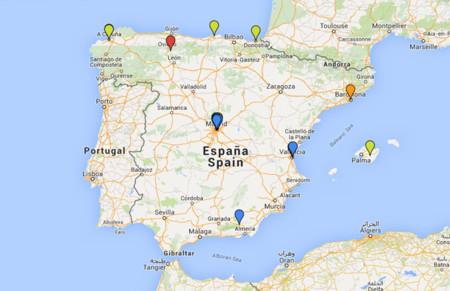El mapa de la riqueza en España: de dónde provienen los principales milmillonarios del país