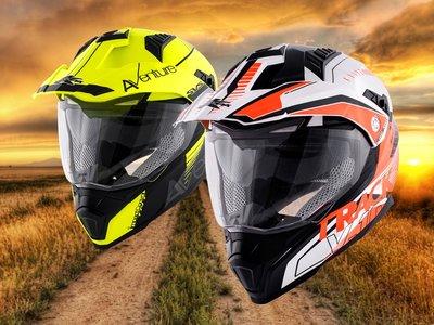 Las aventuras son sólo para los más atrevidos, pero el casco trail Kappa KV30 es para todos