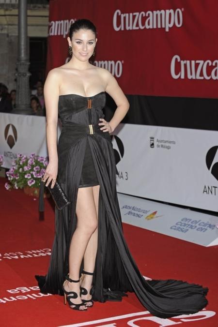Blanca Suárez en el Festival de Málaga