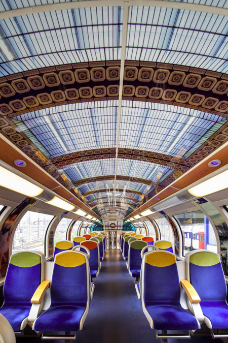 Impressionist Art Public Trains France 6