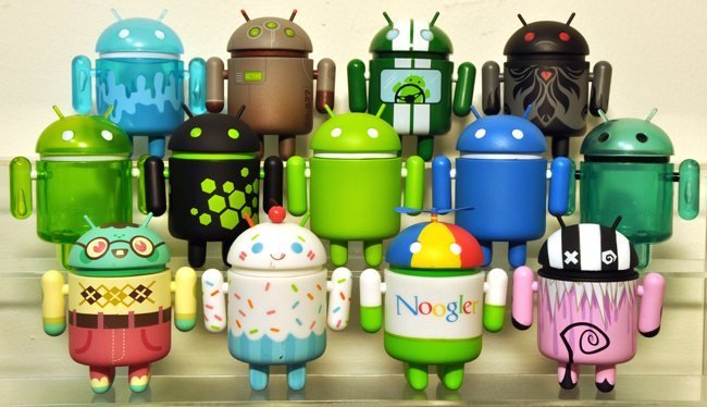 Merchandising sobre Android