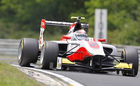 Facu Regalia, el más rápido del segundo día de pruebas de la GP3 en Hungaroring