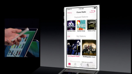 iTunes Radio, servicio gratuito de streaming de música en iOS 7