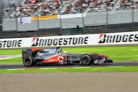 Gran Premio de Japón de Fórmula 1. McLaren obligada a mandar repuestos desde Woking