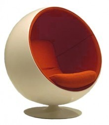 Ball chair: una silla particular
