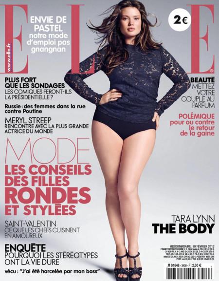 Tara Lynn Elle Magazine 1
