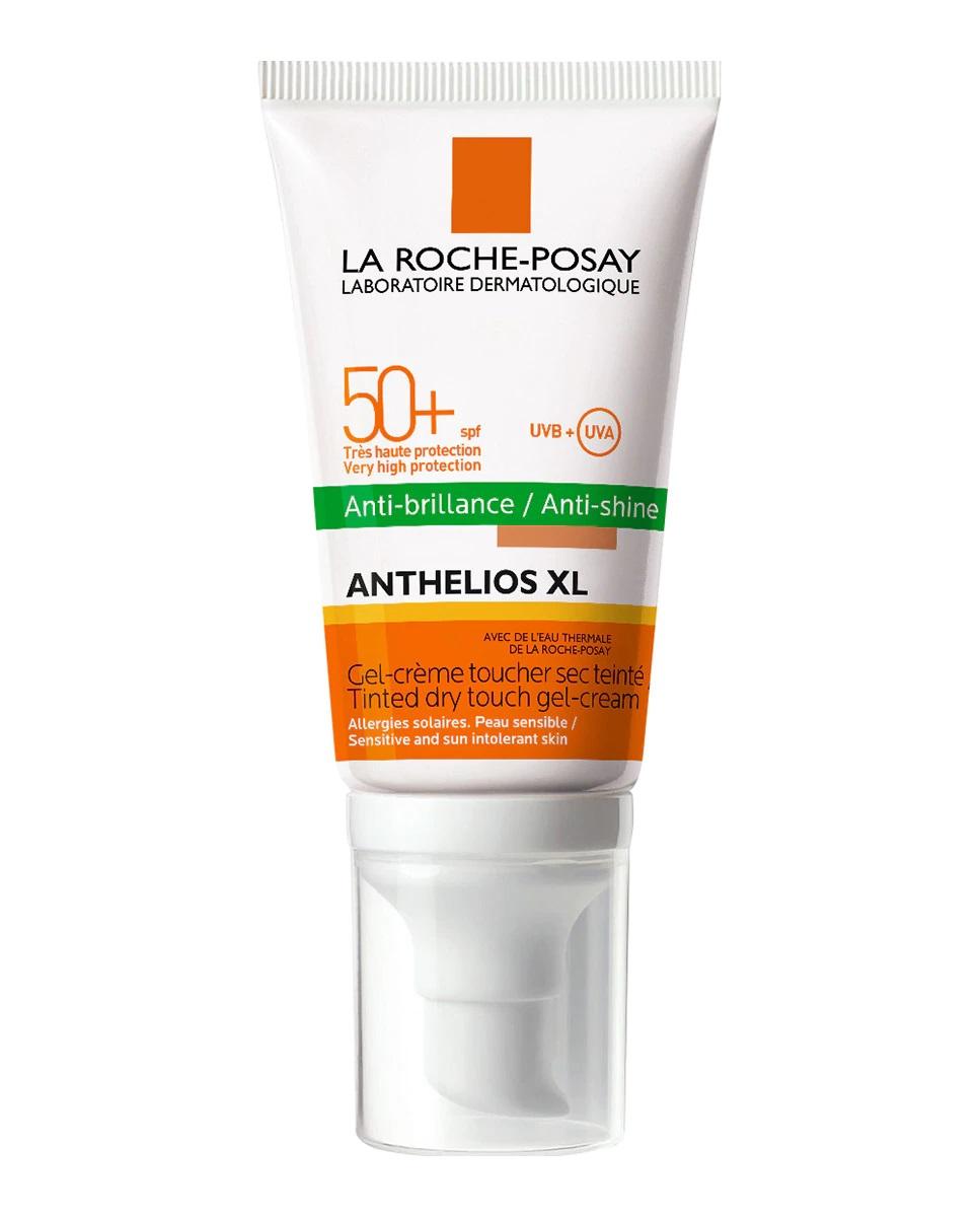 Crema anti-brillos con color y fotoprotección 50+ de La Roche-Posay