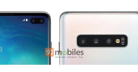 Samsung Galaxy S10 Plus Render Oficial Filtrado Camaras
