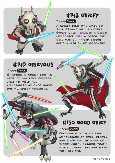 Pokemon Star Wars Grievous