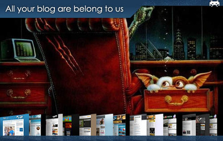 All your blog are belong to us (XXXVIII)
